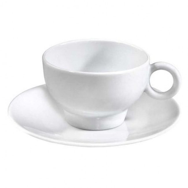 "Porcelain breakfast saucer 6"" / 16.5cm white - Louna - Pillivuyt"