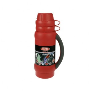 Insulated bottle 34oz / 1L red