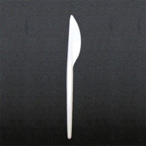 Single use knife in plastic 17.5cm - Sold by 100 - Eco - AZ Boutique