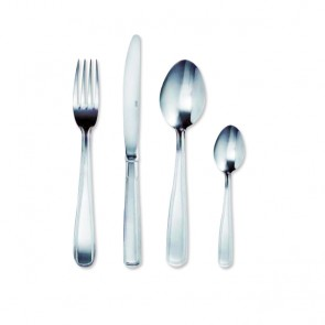 Dessert fork 2mm thick 18/0 stainless steel set of 6 - Double Filet - Amefa