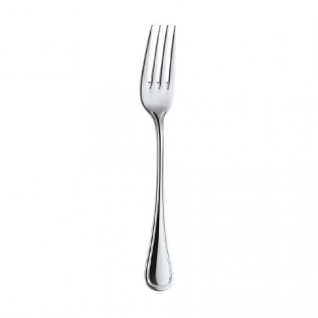 Table fork - 3mm thick 18/0 stainless steel - Sold by 6 - Trieste
