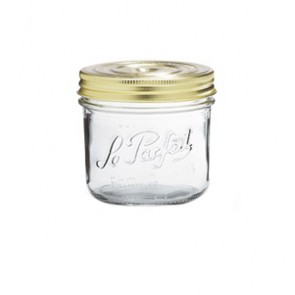 Square clear canning jar 50cl - Fido - Bormioli Rocco