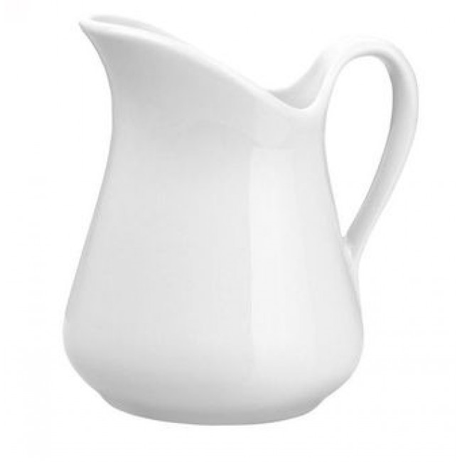 Milk jug Mehun porcelain 3oz / 9cl white - Pillivuyt
