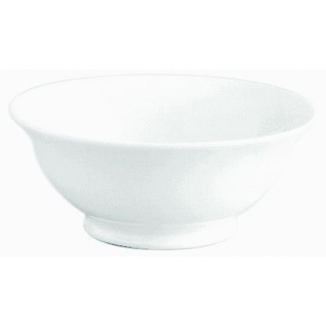 Footed porcelain salad bowl 135oz / 4L white - Pillivuyt