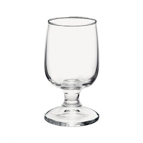 Set of 3 wine stem glasses 0.21qt