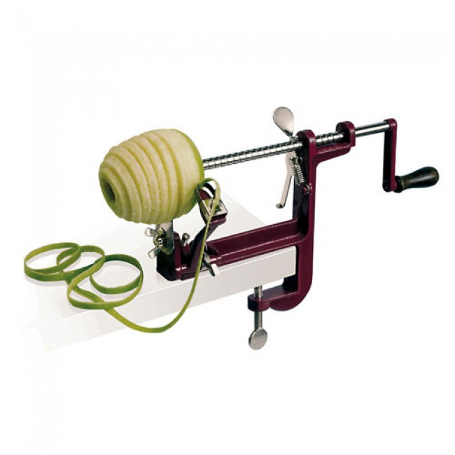 Fixing clamp apple peeler