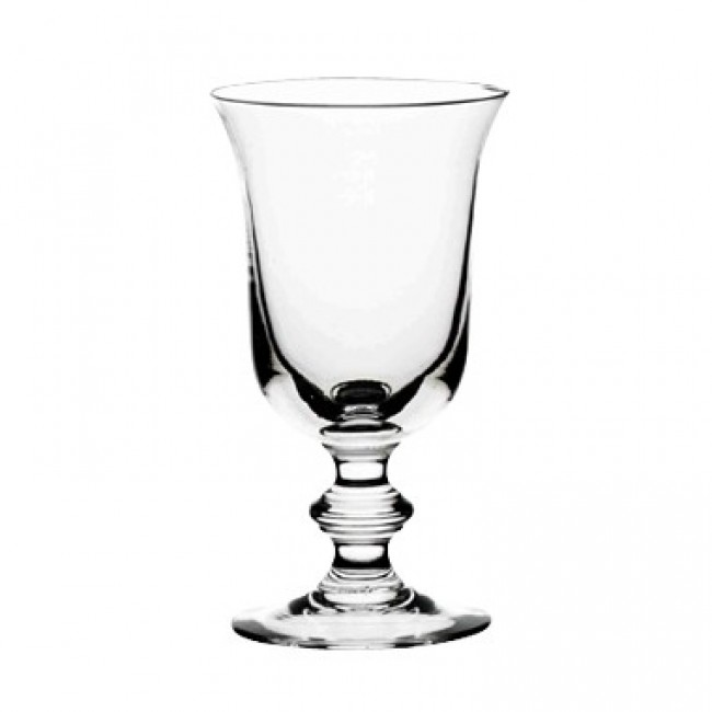 Stem tasting glass 12 oz / 36.5 cl blown mouth glass bell shape - Set of 6