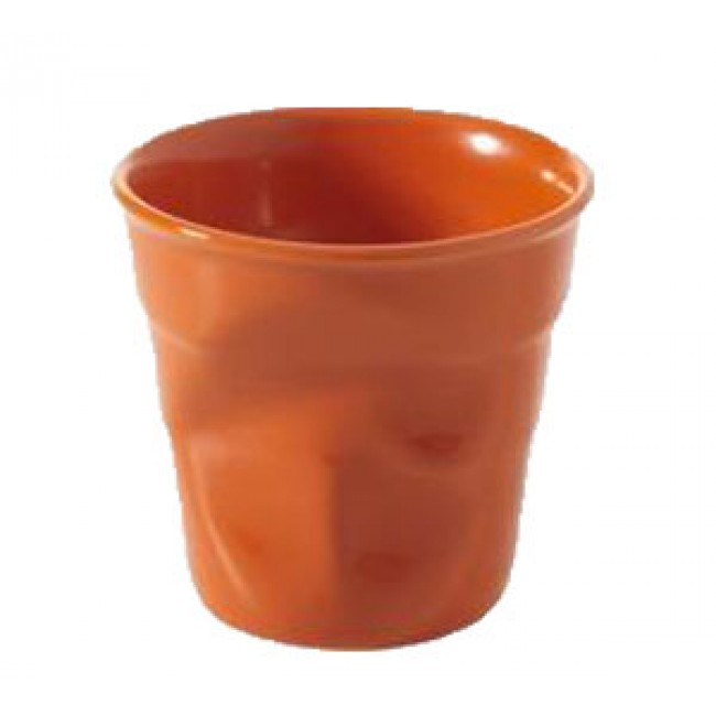 18cl Clementine crumpled tumbler - Capuccino cup