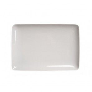 "Rectangular dinner plate 11x8"" / 30x22cm white - Modulo - Guy Degrenne"