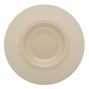 "Round dinner plate 10"" / 26cm white - Modulo - Guy Degrenne"