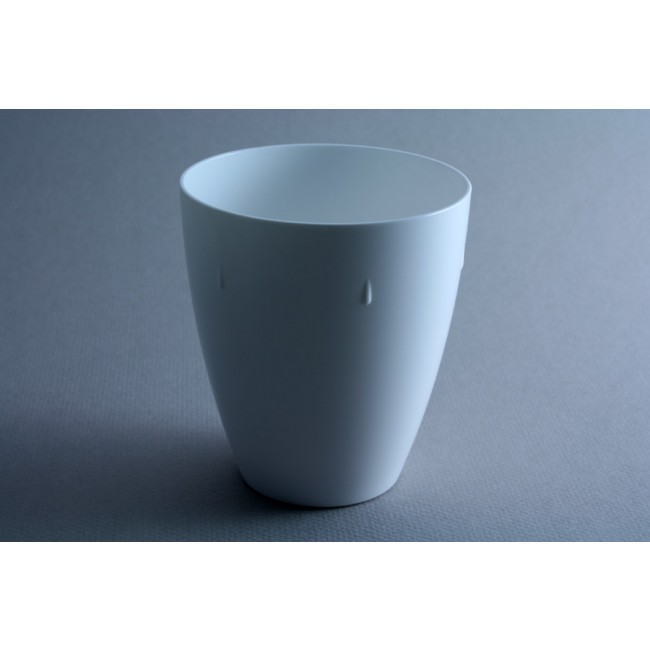 Porcelain color polycarbonate goblet 45cl – Sold by 6