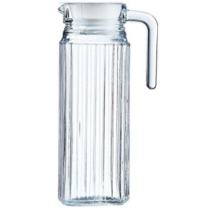 Glass jug / pitcher 34oz / 1L - Quadro - Luminarc