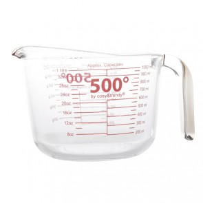 Glass measuring cup 1.1qt
