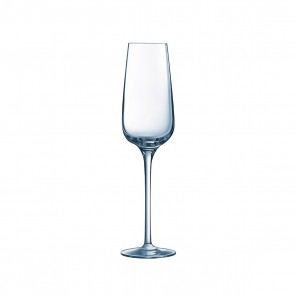 Krysta champagne flutes 21cl / 7.1oz gauge 0,1L/3,4oz - Sold by 6