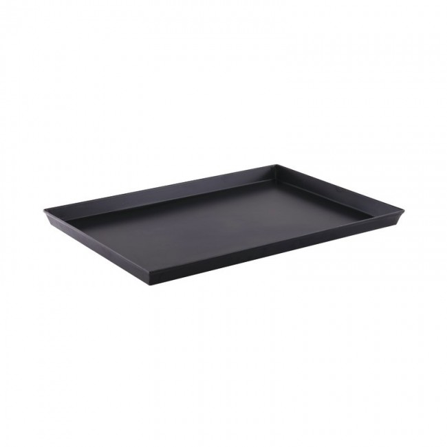 Aluminium roasting pan 65x43cm with fixed handles - Chef - Aluminio - Lacor
