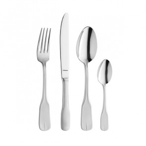 Dessert fork - 3mm thick 18/0 stainless steel - Sold by 6 - Vieux Paris