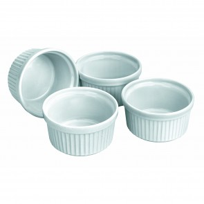 "Porcelain ramekins 3.5""/9cm - Set of 4"