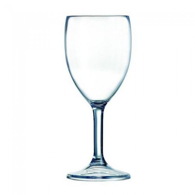 Polycarbonate wine glass 10oz / 30cl – Set of 6 - Outdoor - Arcoroc