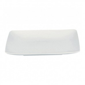 "Square soup plate white 8"" / 20cm Modulo Guy Degrenne"