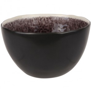 "Bowl black and purple 5"" / 14cm - Laguna Viola - Cosy & Trendy"