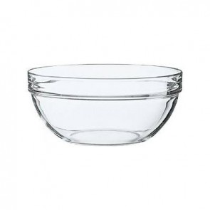 Stackable glass salad bowl 20cm - Saladier Empilable - Arcoroc