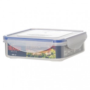Airtight food container 600ml square - Thermos
