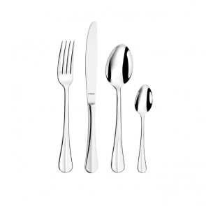 24 piece cutlery set 3mm thick 18/0 stainless steel - Baguette Amefa