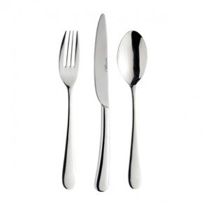 120 piece cutlery set - 3mm thick 18/10 stainless steel - Ascot - Eternum