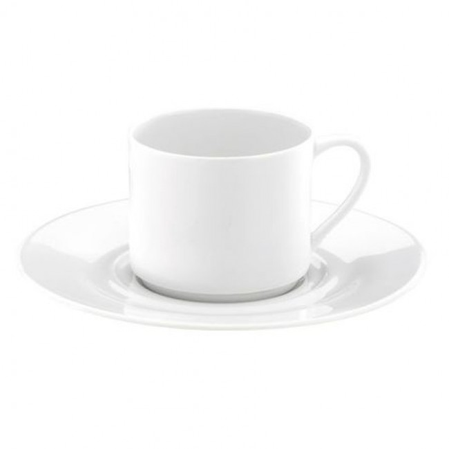 Porcelain tea cup 6oz / 18cl white - Valencay - Pillivuyt