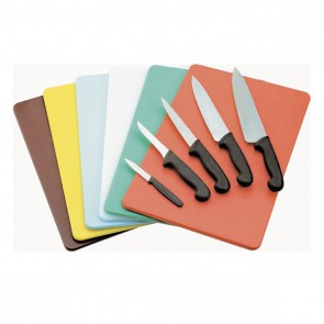 Green cutting board 40 x 30 x 1cm fruits and vegetables in polyethylene - AZ Boutique