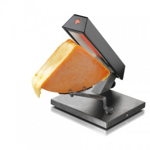 Cheese raclette grill for quarter portion