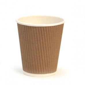 Tumbler double wall for hot drink  36cl - Sold by 50 - Disposable goblets - AZ boutique