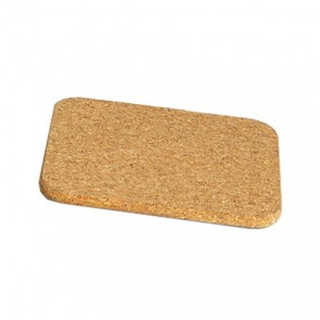 Plate mat square 19cm x 19cm in cork - set of 3 - Liège - Cosy & Trendy